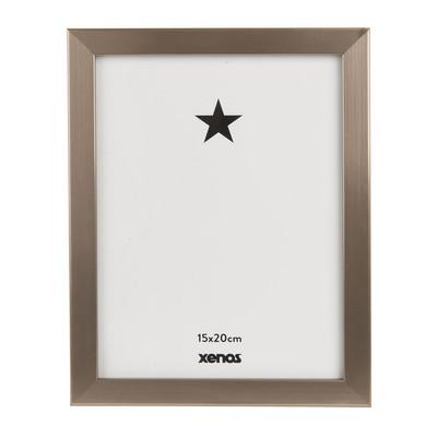 Fotolijst basic - 15x20 cm - zilverkleurig