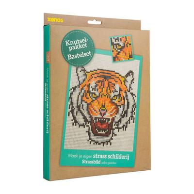 Diamond painting - tijger