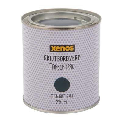 Krijtverf - midnight grey - 236 ml