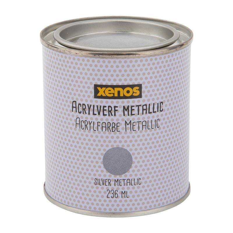 Betere Metallic verf - zilver - 236 ml | Da's leuk van Xenos JT-29