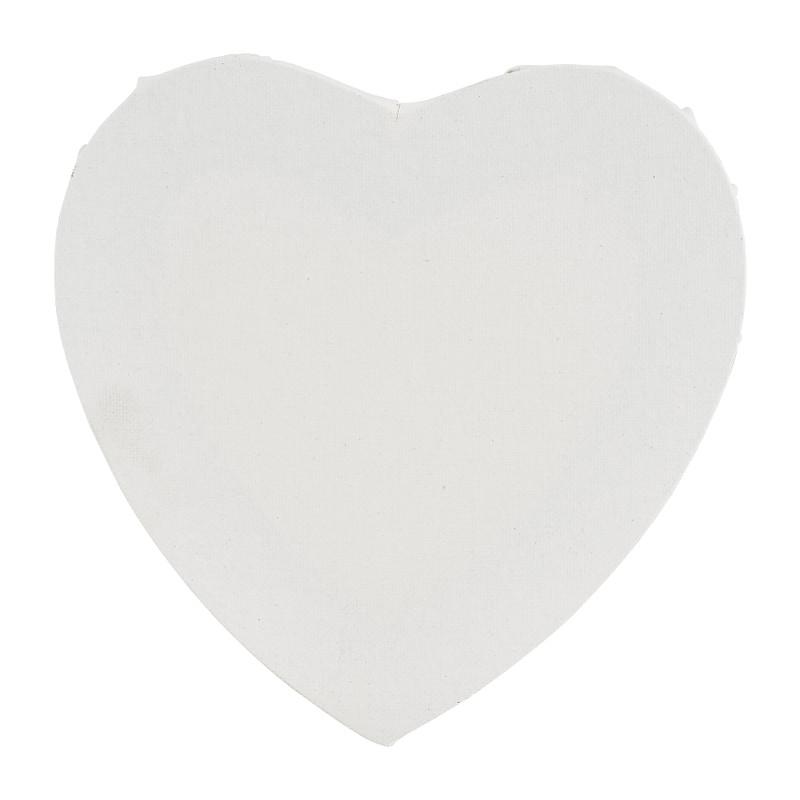 Schildersdoek hart - 20 cm kopen