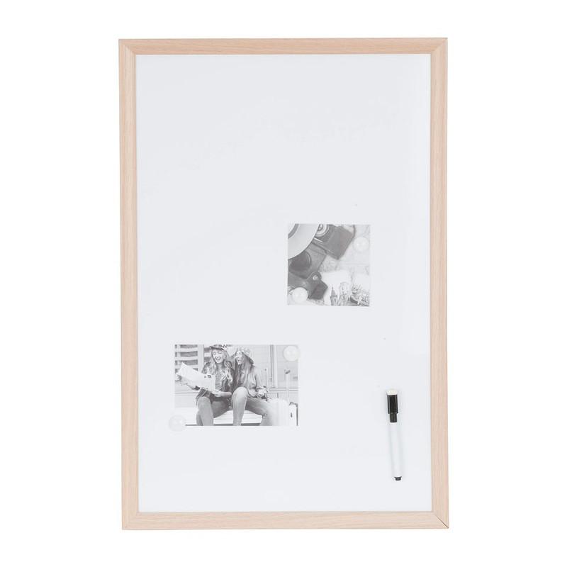 Whiteboard houten lijst – 40x60 cm