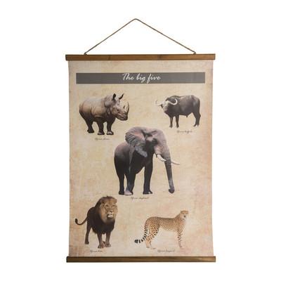 Vintage Poster - dieren - 50x70 cm