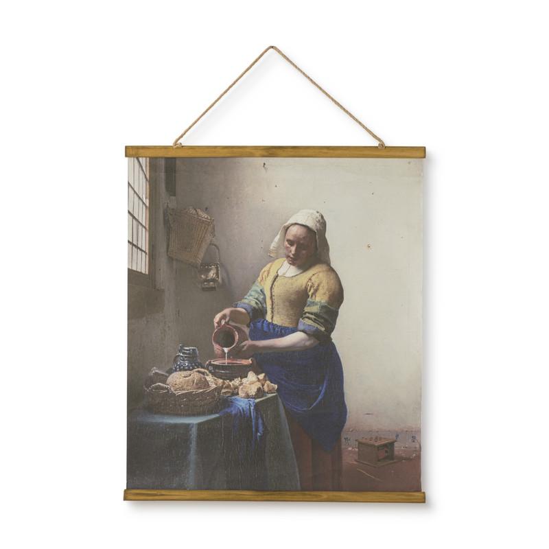 Poster melkmeisje - multikleur- 50x70 cm