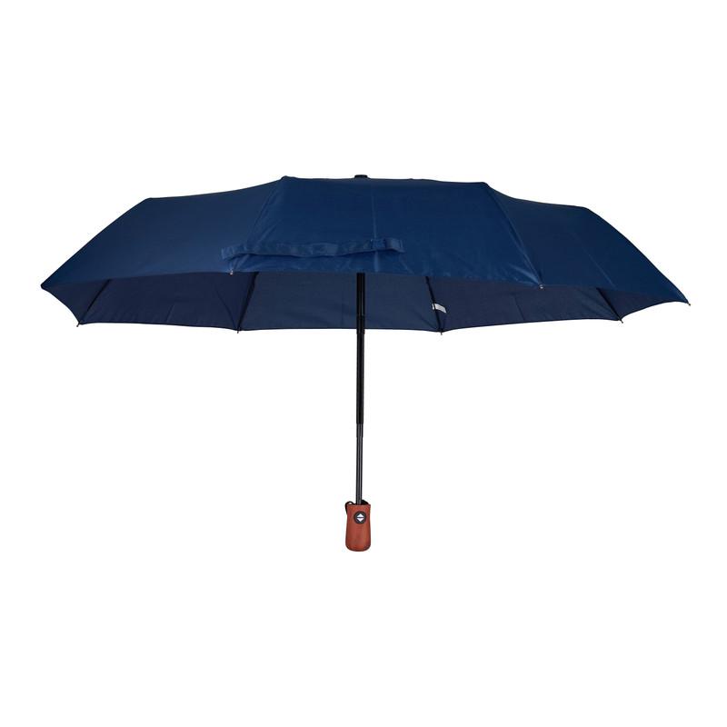 Paraplu blauw - opvouwbaar