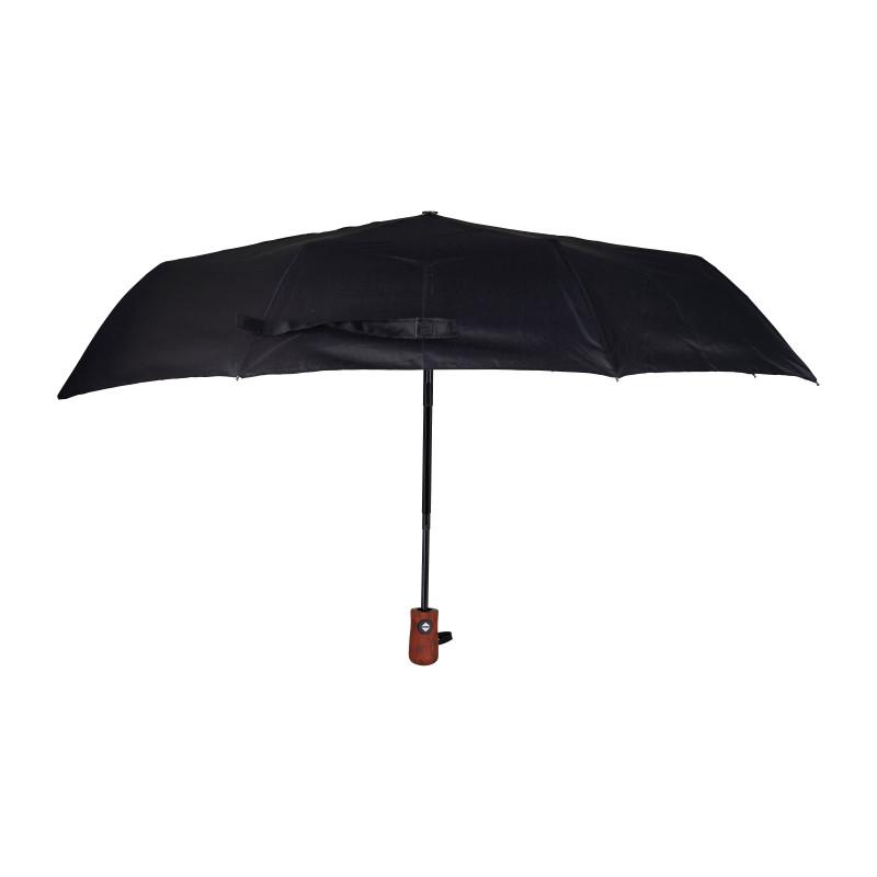 Paraplu zwart - opvouwbaar
