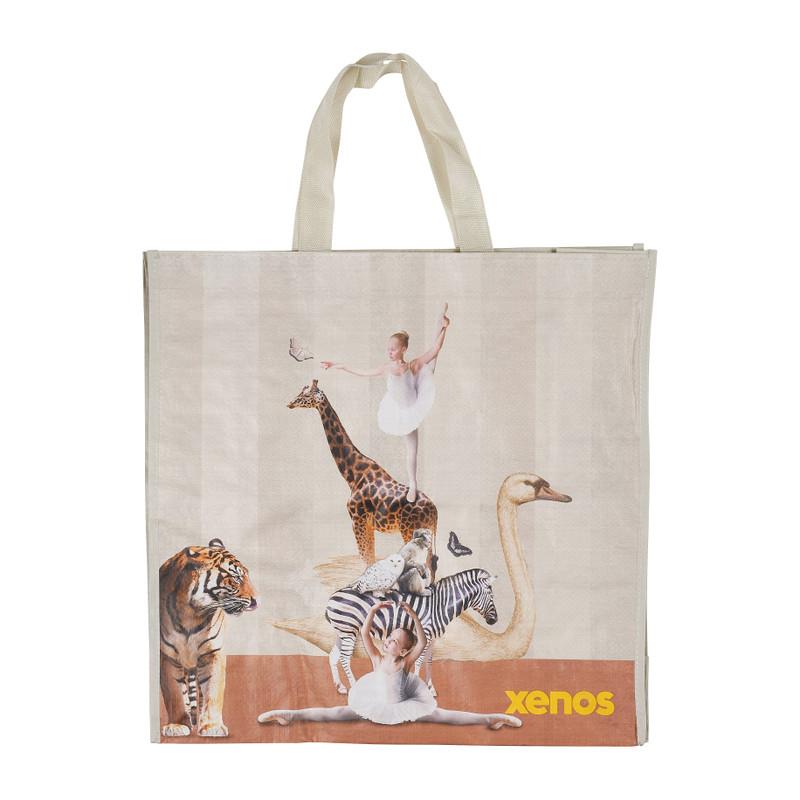 Shopper ballerina beige 46x15 5x45 cm