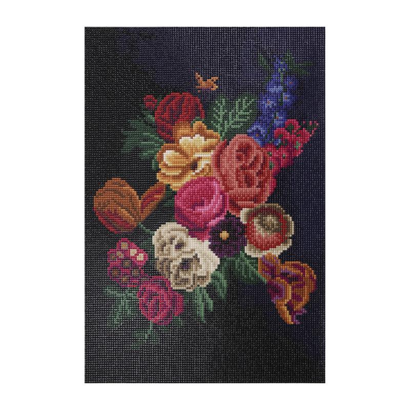 Diamond painting - flowers