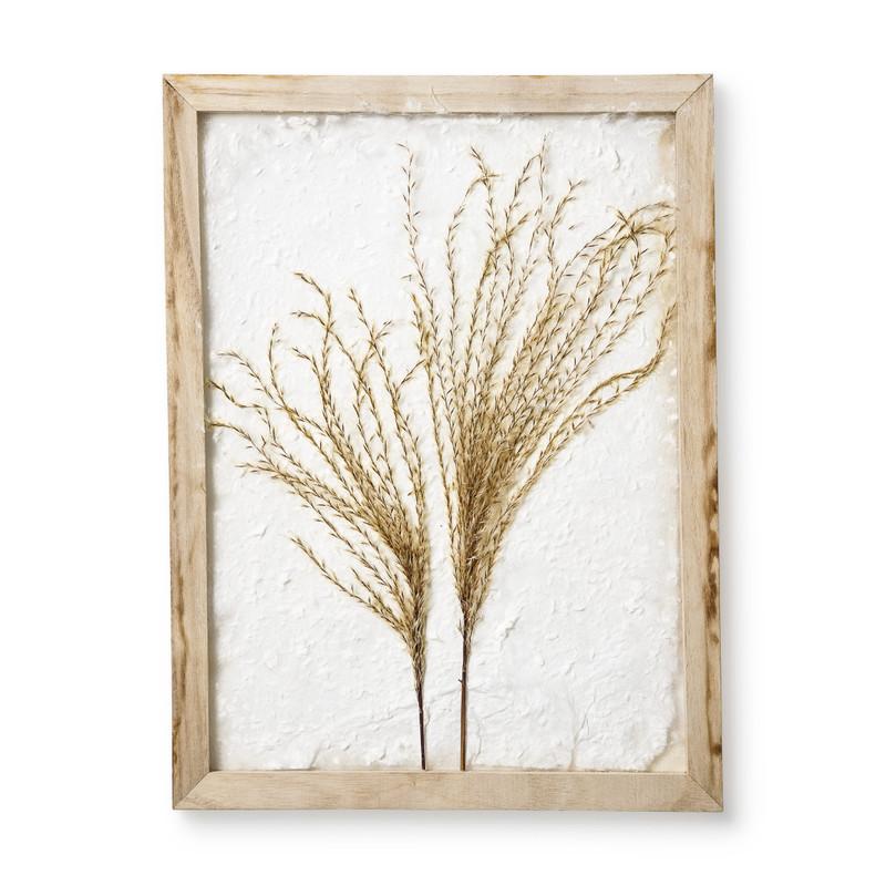 DIY fotolijst droogbloemen - 30x40 cm