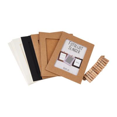 Nieuw Fotolijst slinger DIY - karton - 12 foto's | Da's leuk van Xenos YT-54