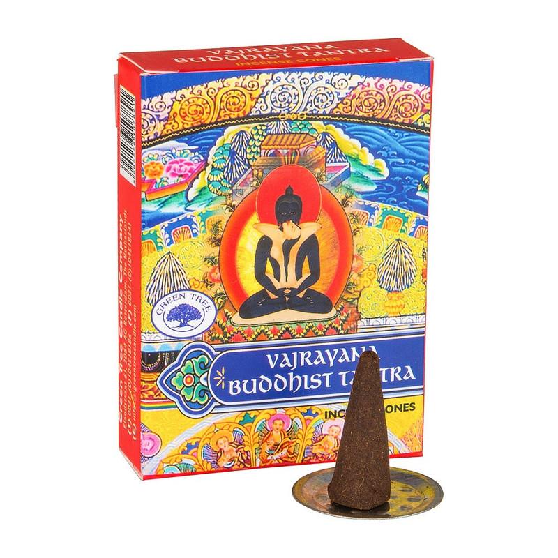 Wierookkegeltjes Vajrayana Buddhist Tantra - 10 stuks