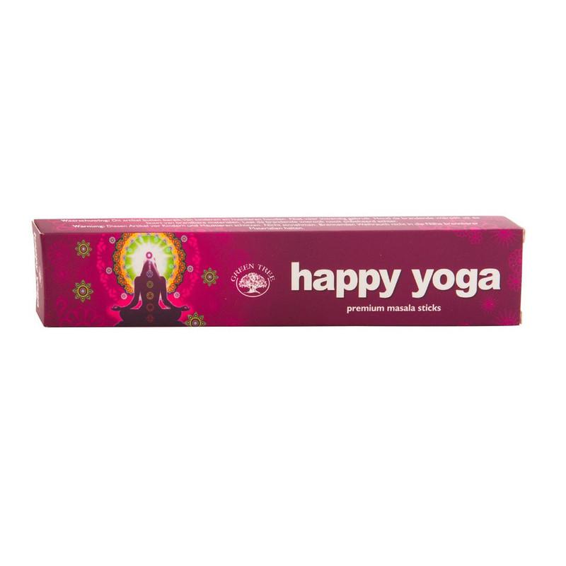 Wierook - happy yoga - 12 stuks
