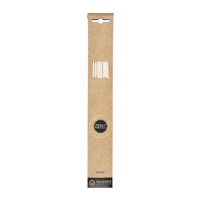 Geurstokjes 25 cm - navulbaar - wood