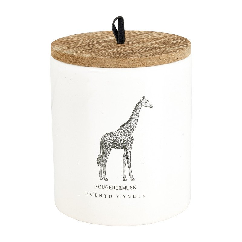 Geurkaars giraffe in pot