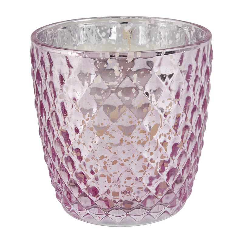 Geurkaars shiny - rozen - �8.5x9 cm