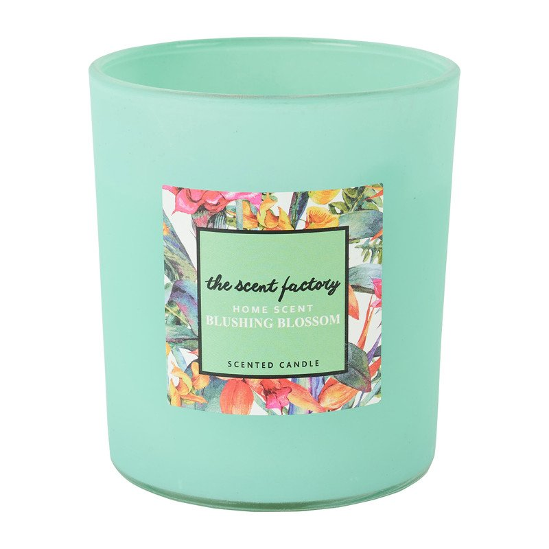 Home scent kaars in glas - Blushing Blossom - ⌀8.8x10 cm
