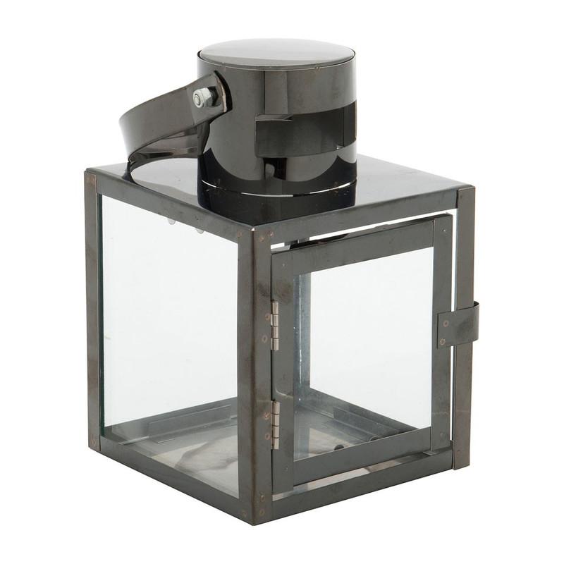 Betere Lantaarn - zwart - 10x10x15 cm | Da's leuk van Xenos XN-42