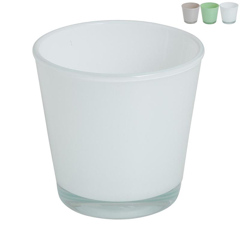 Theelichthouder - diverse kleuren - �7,3x7,5 cm