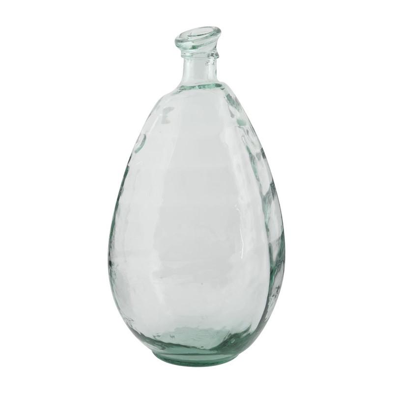 Glazen Vaas Xenos.Vaas Recycle 48x25 Cm