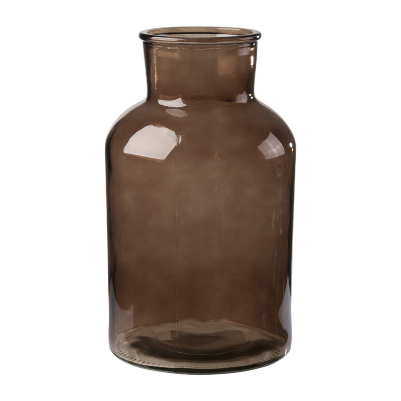 Apotheker flesvaas - bruin - 18x30 cm