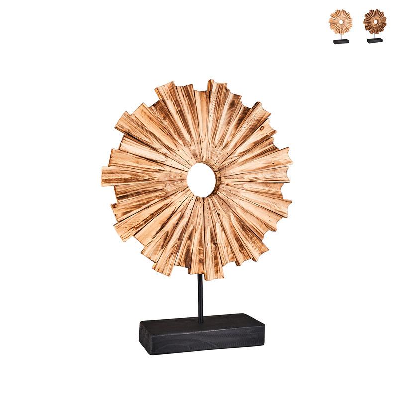 Staande decoratie zon - diverse varianten - 33x10x45 cm