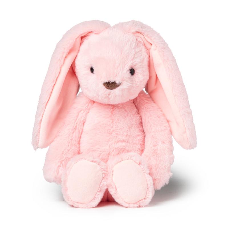 Knuffel haas - roze -25 cm