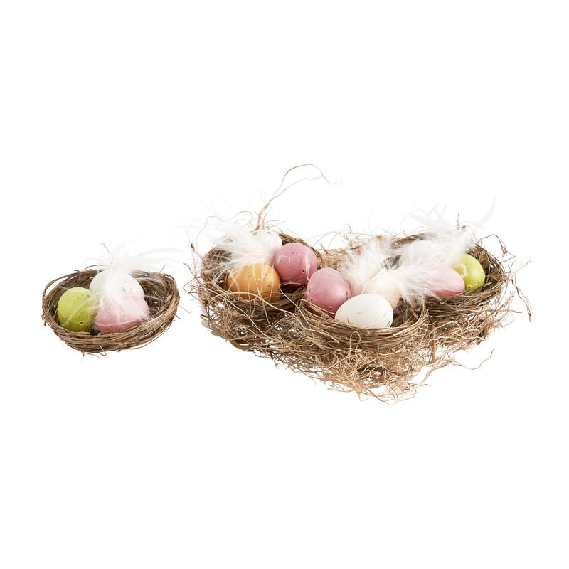 Nestje met eieren 4 stuks