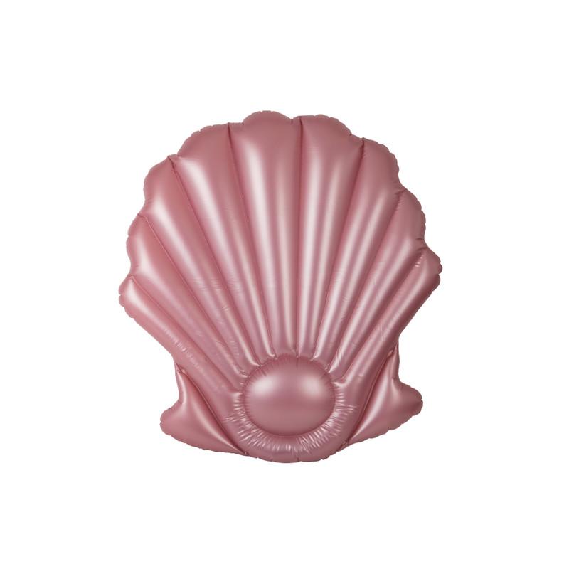 Luchtbed schelp - roze - 160x150 cm