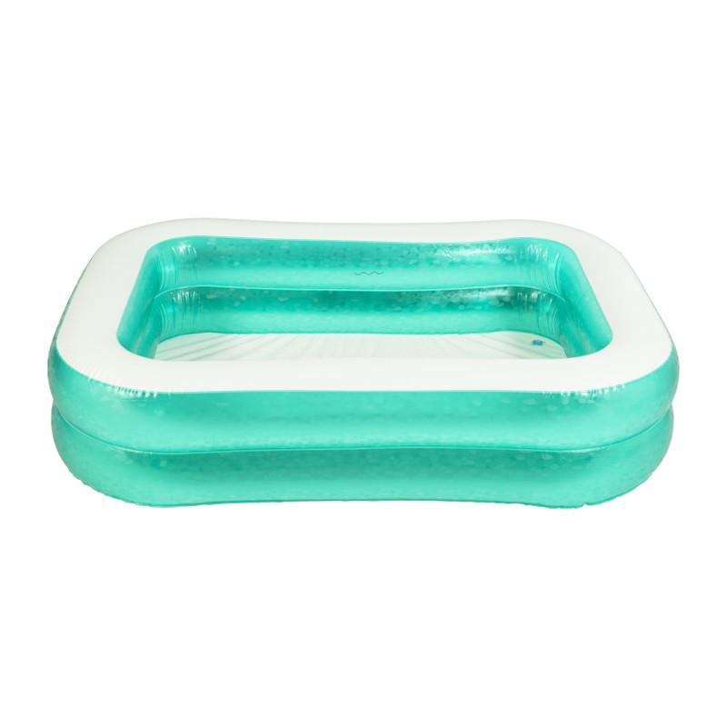 Zwembad - groen/wit - 200x150 cm