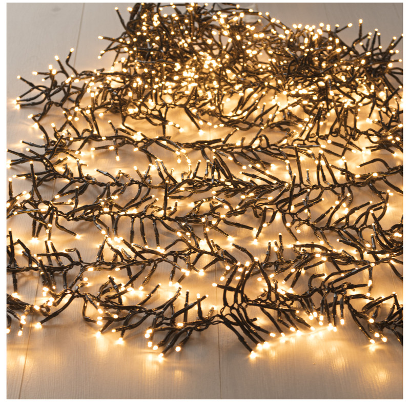 Cluster licht - 1152 lampjes - 800 cm