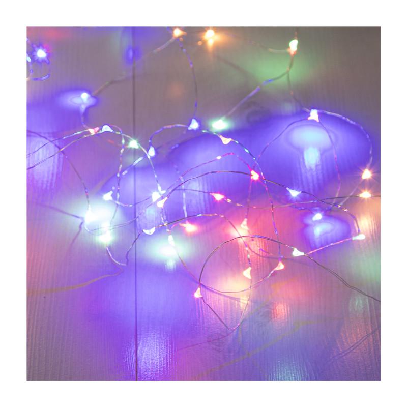 Verlichting multikleur - 50 lampjes - 500 cm