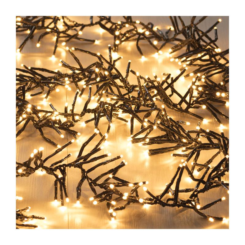 Cluster verlichting - 384 lampjes - 280 cm