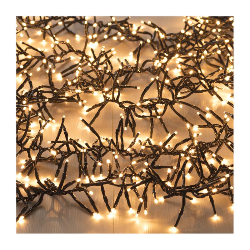 Cluster verlichting - 576 lampjes - 420 cm