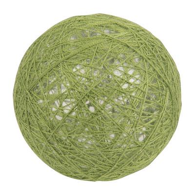 Cotton balls green