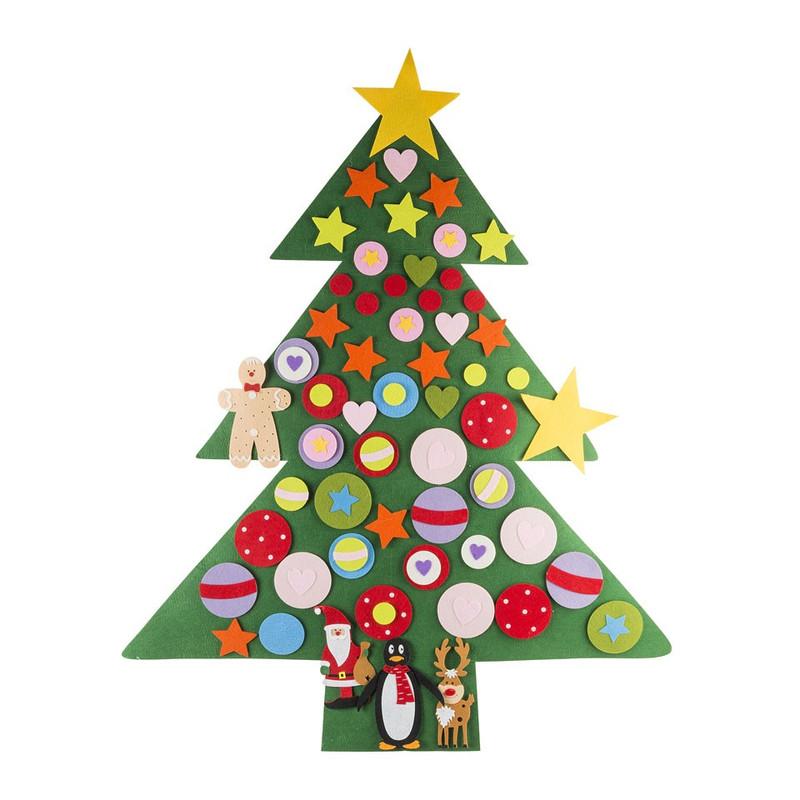 Kerstboom vilt XL - 120x100 cm