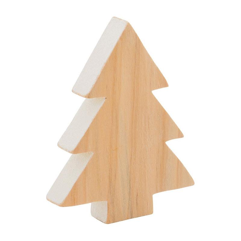 kerstboom glitter - 9x12 cm   xenos