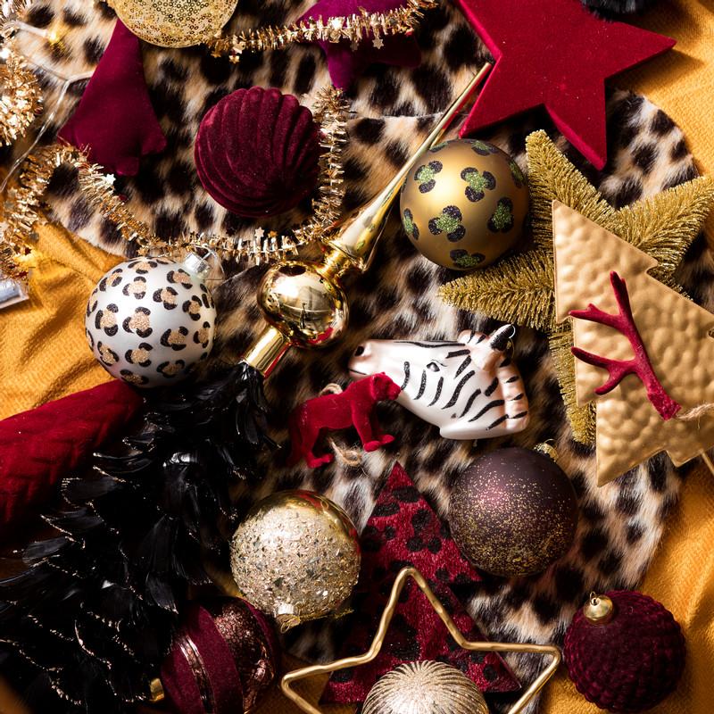 Kersthanger tijger - diverse varianten