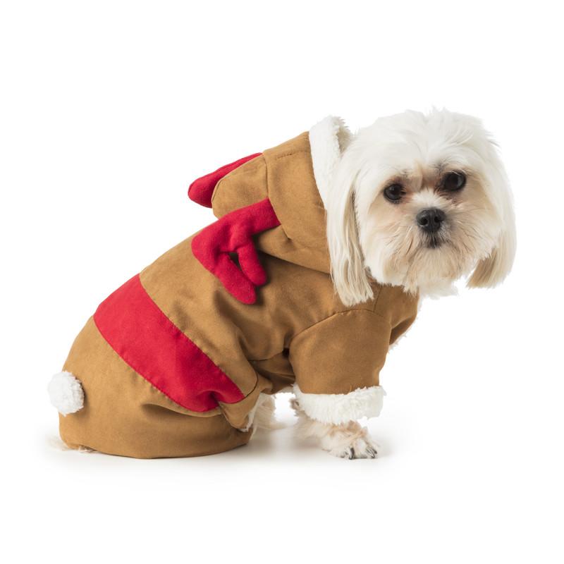 Kerst outfit voor dieren - rendier
