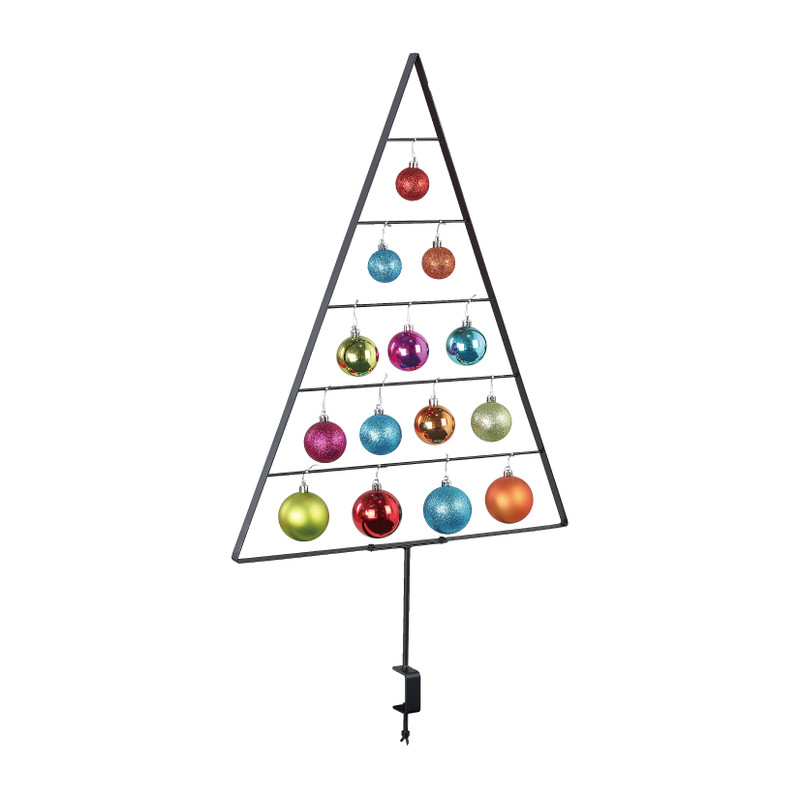 Tafelclip kerstboom - 45x3.5x80 cm
