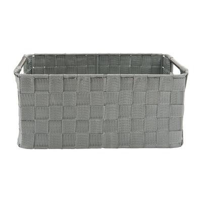 Lademand chroom handvat - grijs - 34x23x15 cm