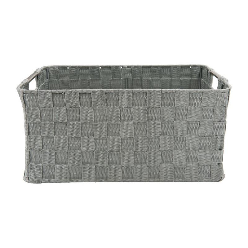Lademand chroom handvat - grijs - 40x30x18 cm