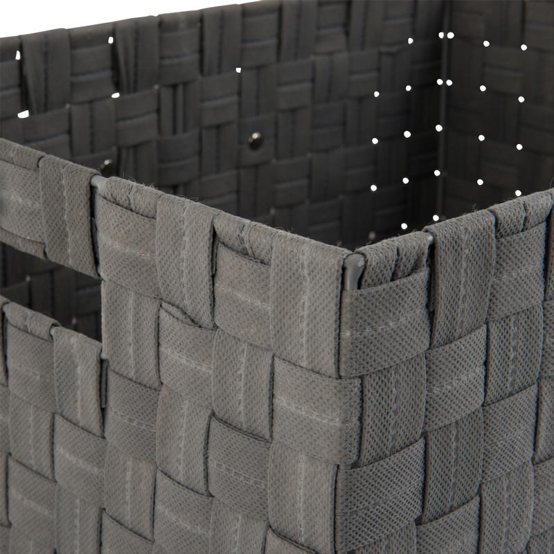 Lademand - grijs - 40x30x20 cm