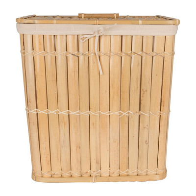 Wasmand bamboe - 40x30x45 cm