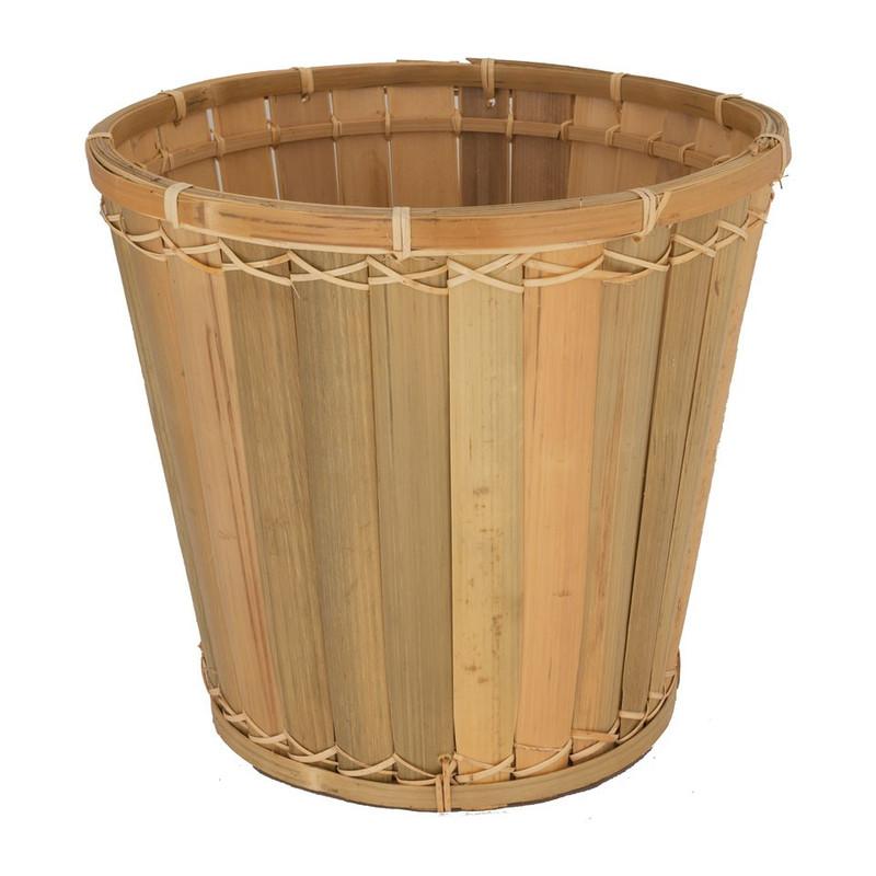 Prullenmandje bamboe
