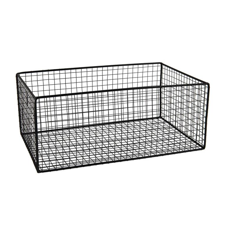 Gaasmand - 41.5x26,5 cm - zwart