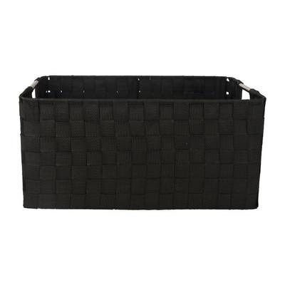 Lademand chroom handle - zwart - 40x30x18cm