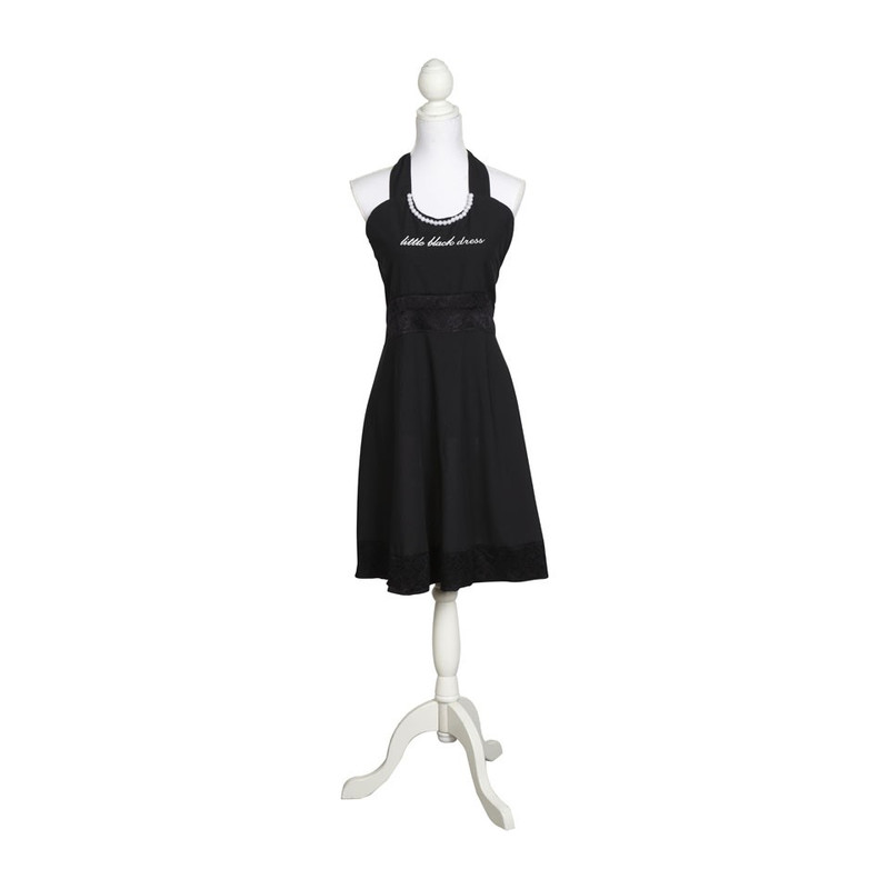 Keukenschort 'little black dress'