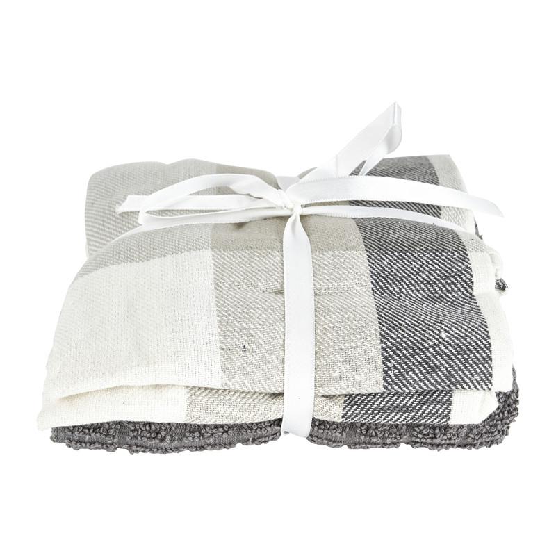 Keukenset - grijs/wit - set van 3 kopen