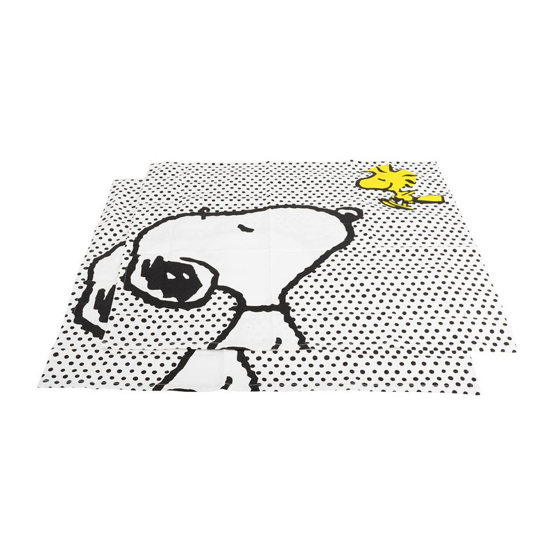 Theedoek Snoopy - set van 2