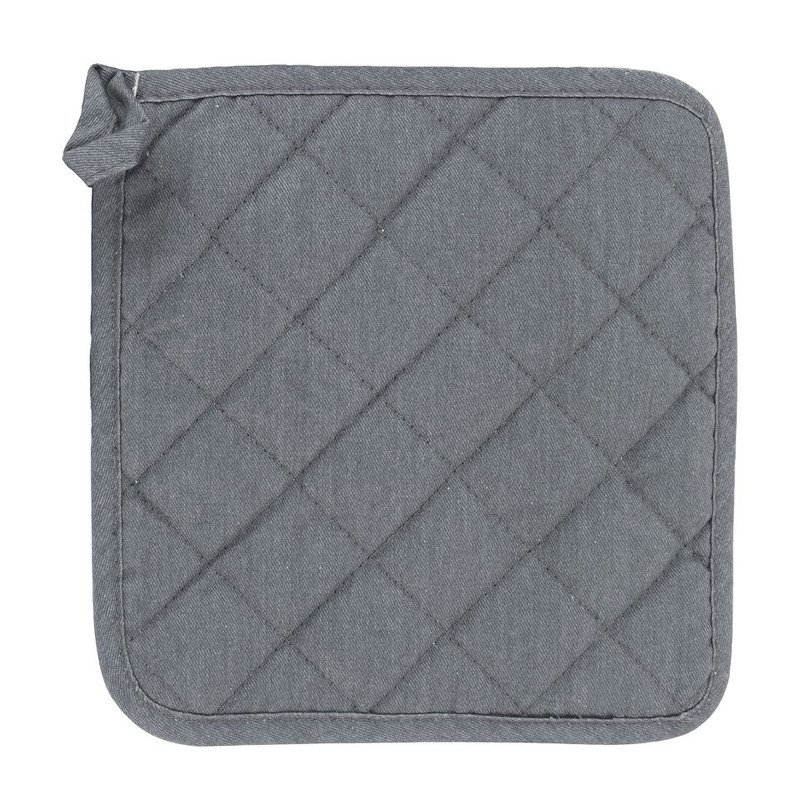 Pannenlap streep - grijs/wit